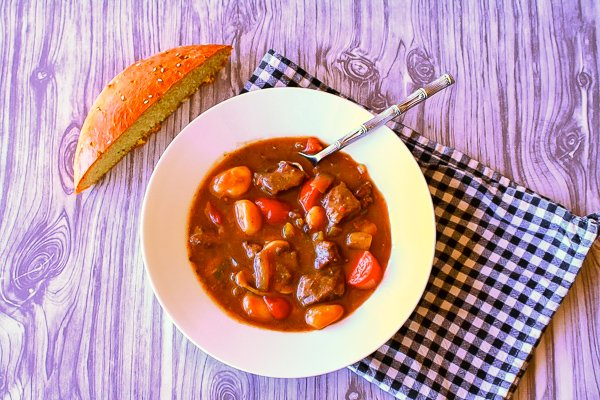 Stay warm with this delicious beef stew with potato gnocchi recipe