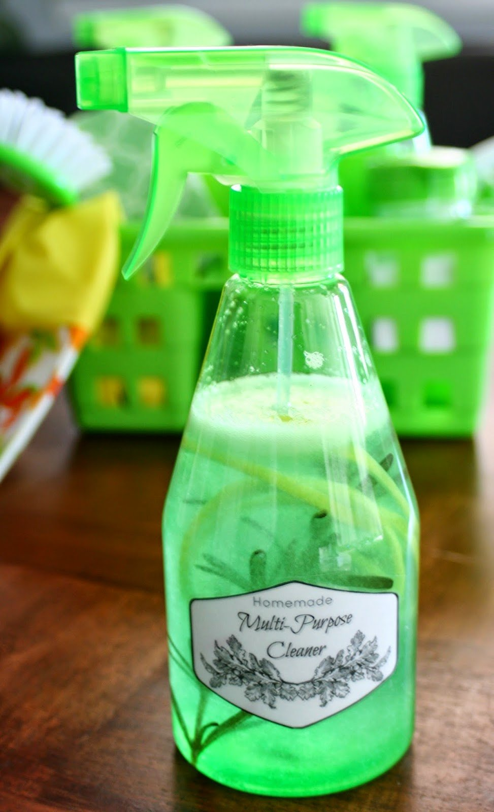Homemade Multi-purpose cleaner recipe - affordable and super effective!