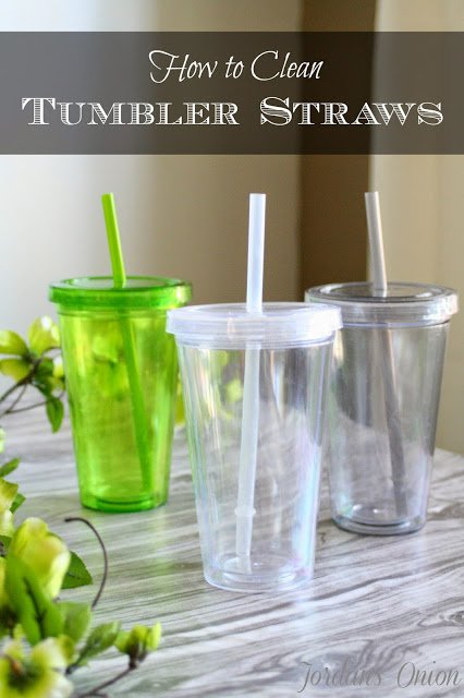 How to Clean Tumbler Straws | Jordan's Onion