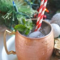 Candy Cane Christmas Mules