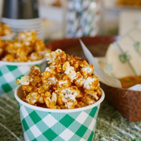 Buffalo Caramel Popcorn
