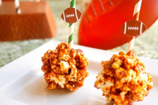 Barbecue Popcorn Balls