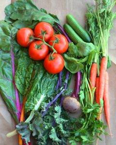 These veggies make a delicious high iron vegetable juice