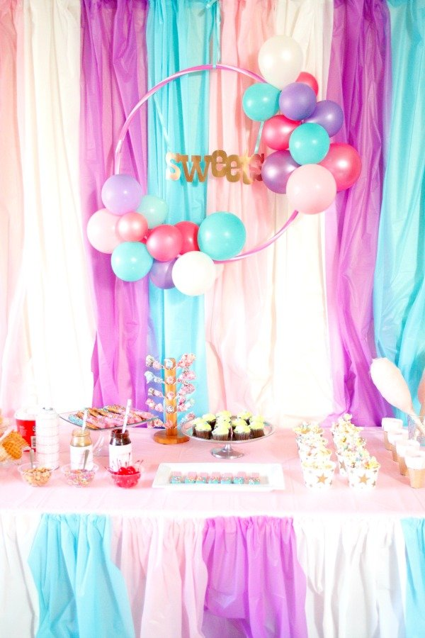 Throw a Sweets Shop Party for your next family movie night #ad #YourTaxCash