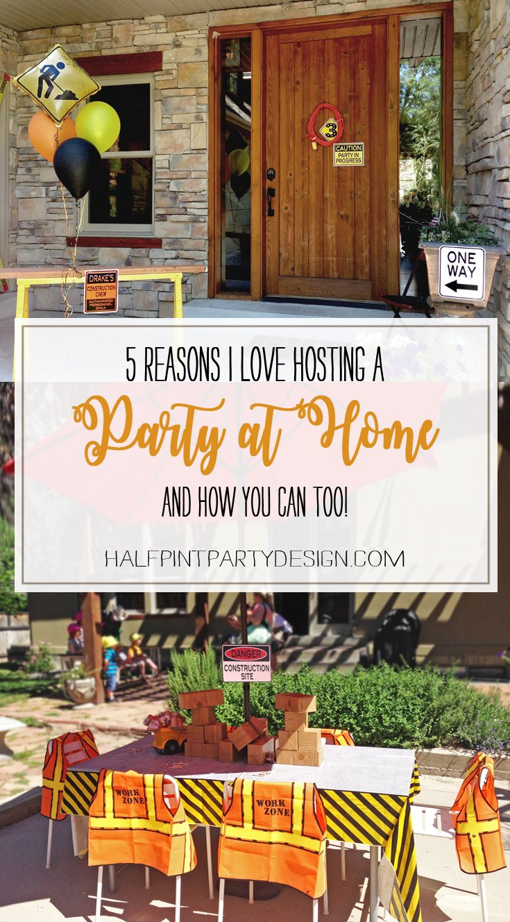 Why host a party at home here are 5 reasons to love it for Hosting a party at home