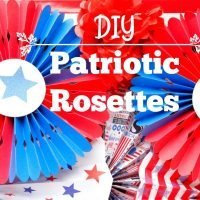How to Make DIY Patriotic Rosettes