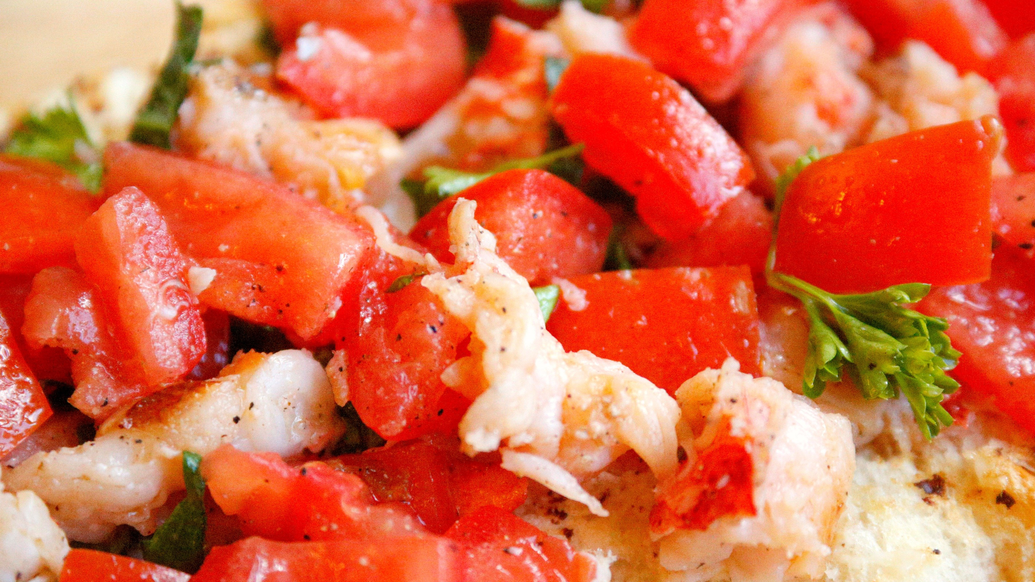 This yummy lobster bruschetta is a quick and easy appetizer to whip up for your next event.