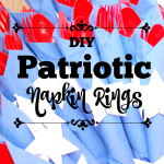 DIY Patriotic Napkin Rings