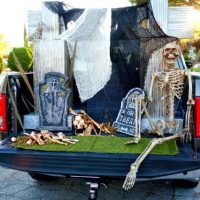 Glam Cemetery Truck Trunk or Treat