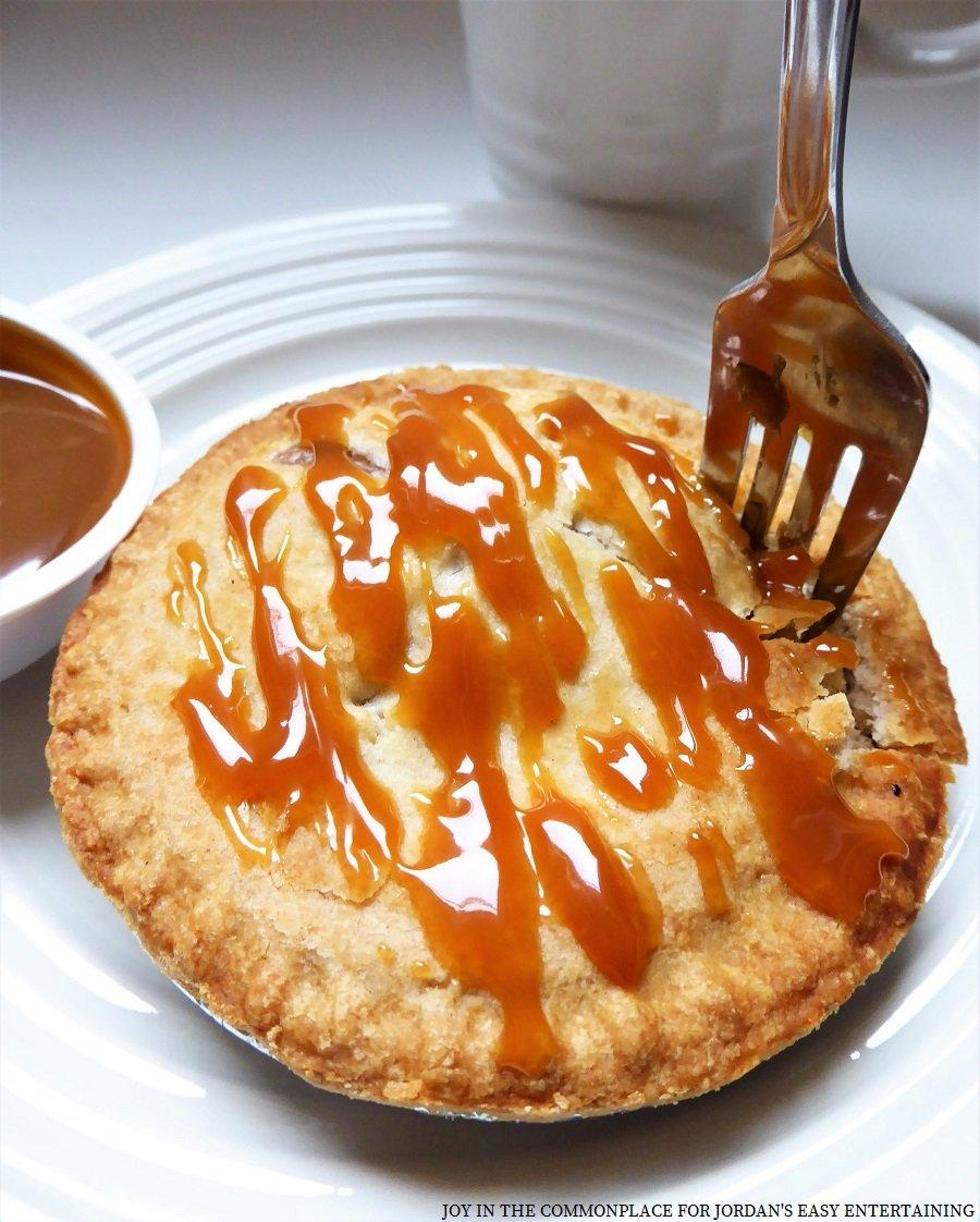 Mini Caramel Apple Pie