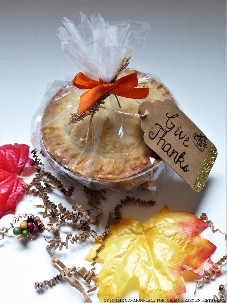 Mini Caramel Apple Pie Party Favors