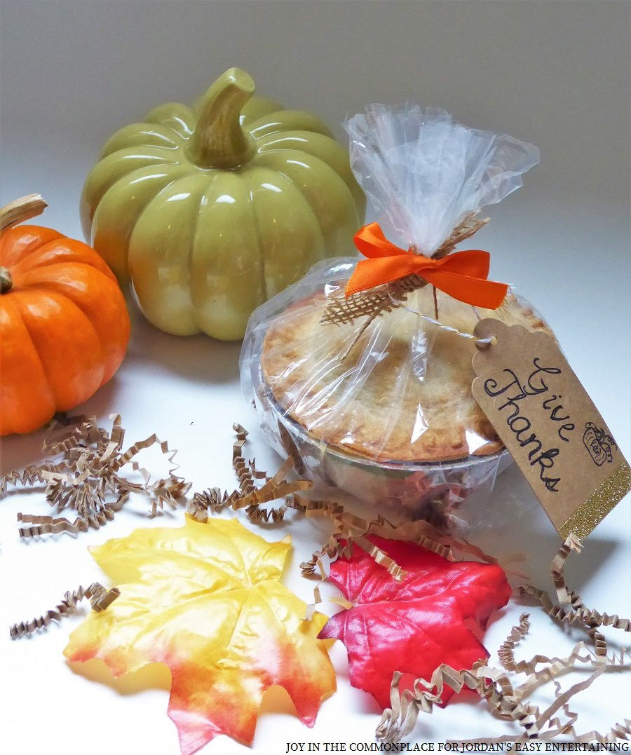Mini Caramel Apple Pie Party Favors