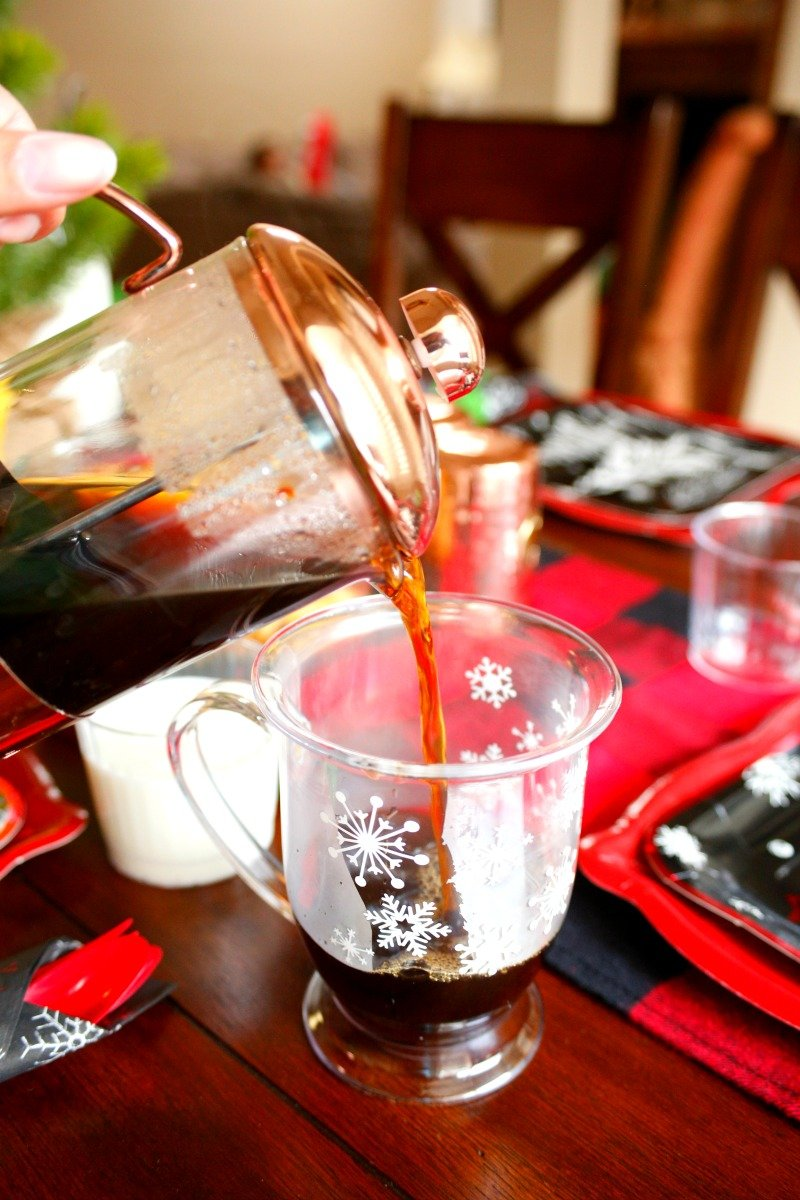 Coffee for mom on Christmas morning #orientaltrading