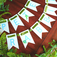Peter Rabbit Party Banner