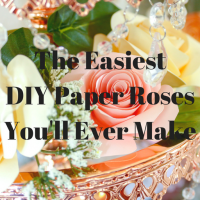 The Easiest DIY Paper Roses You'll Ever Make