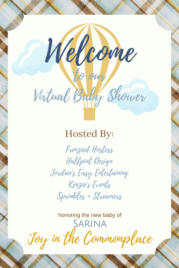 Welcome to our Virtual Baby Shower