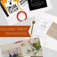 Start the Season right with Fun Halloween, Thanksgiving, and Christmas Party Invitations