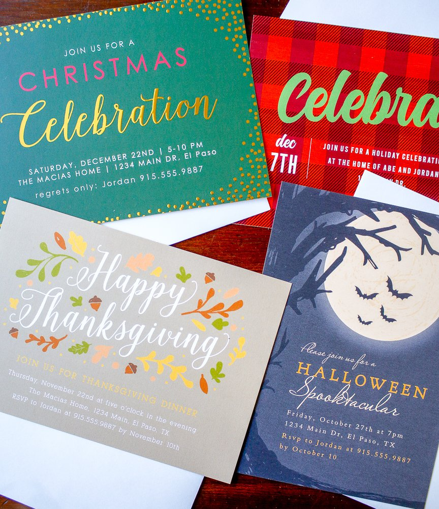 Customizing invitations for your holiday parties is super easy over at Basic Invite [sponsored]