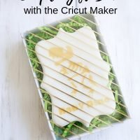 How to Make a Simple Gift Box with Cricut Maker
