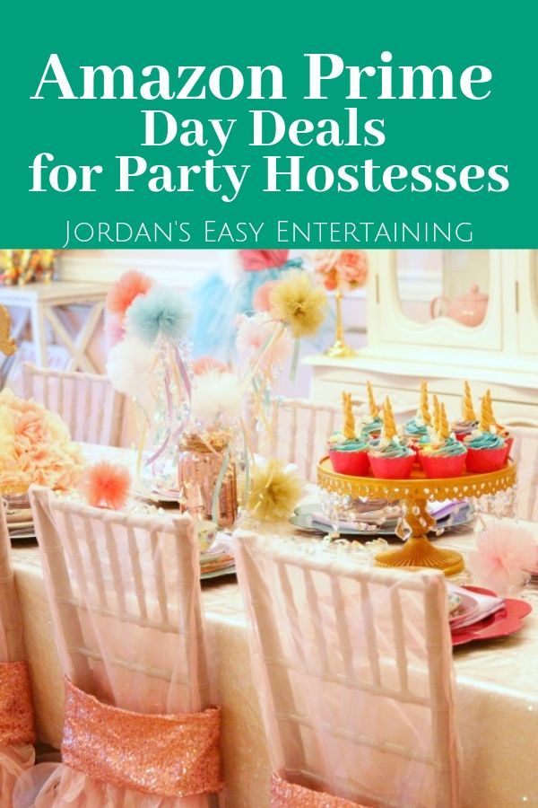 amazon prime day deals for party hostesses