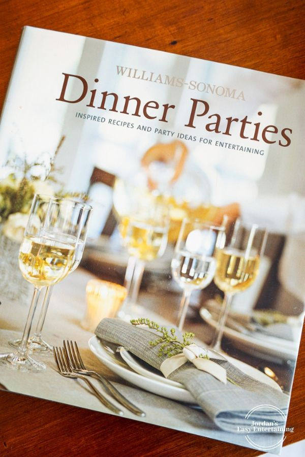the Williams Sonoma Dinner Parties Cookbook cover