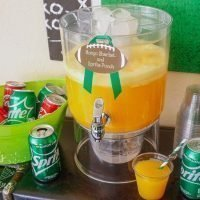 Mango Sherbet and Sprite Punch