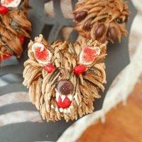 Creepy Halloween Monster Werewolf Cupcakes Tutorial