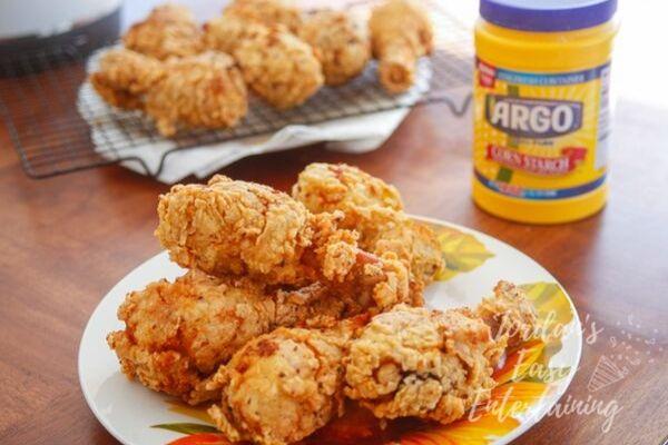 easy crispy fried chicken legs recipe