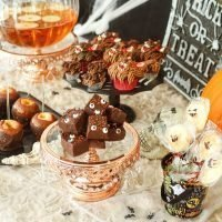 Halloween Party Dessert Table