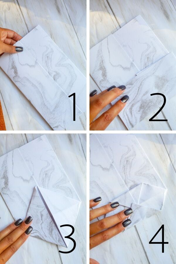 steps 1 though 4 of this diy Halloween decoration