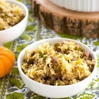 Rice Dressing (Dirty Rice)