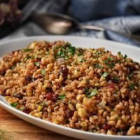 Warm Farro Salad: Perfect for Fall