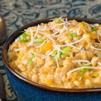 Farro Risotto With Butternut Squash | The Perfect Fall Risotto!
