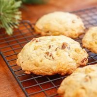 Pecan Butterscotch Cookie Recipe