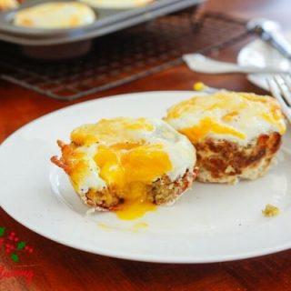 Savory Stuffed Prosciutto Egg Cups Recipe