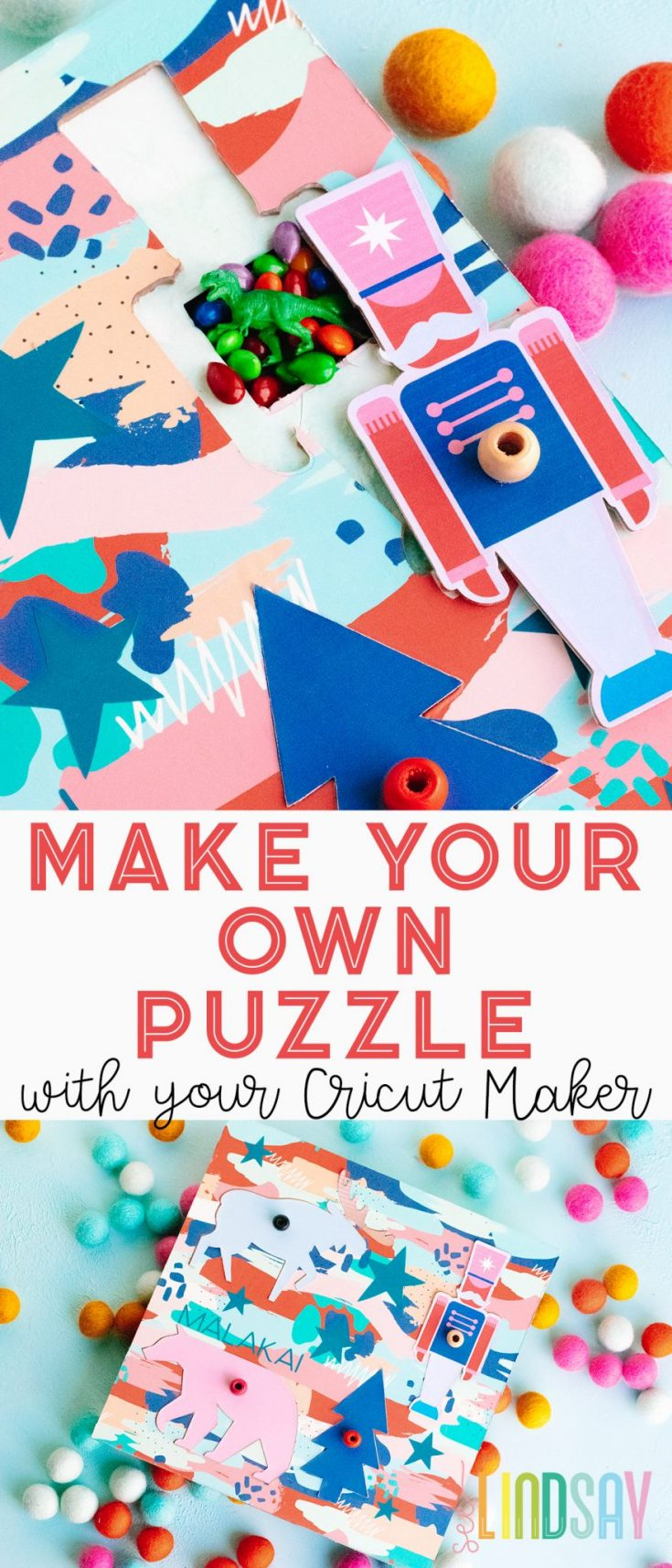 Make Your Own Puzzle with the Cricut Maker