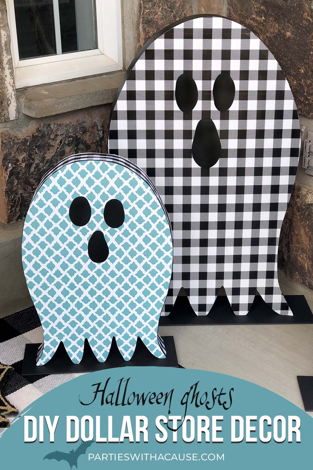 diy Dollar tree Halloween ghost crafts