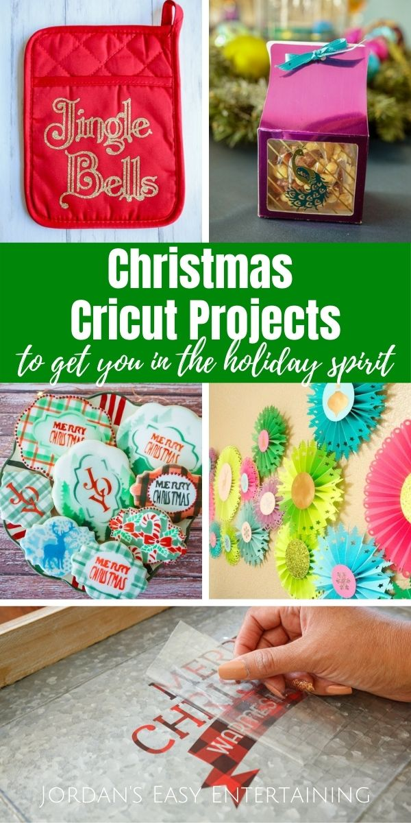 Christmas Cricut crafts