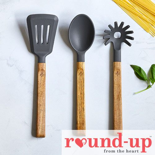 Silicone & Wood Utensil Set - Shop | Pampered Chef US Site