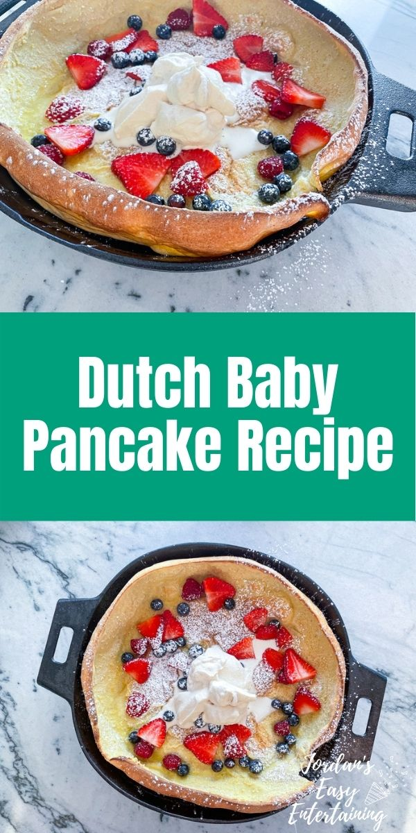 a Dutch baby pancake recipe